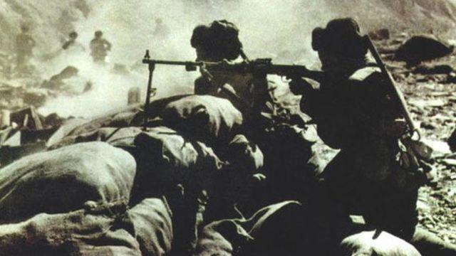 1962年中印战争中的中国军队