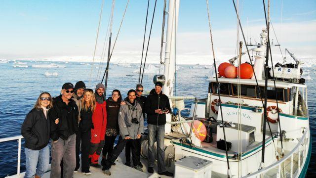 Miembros de la Expedición Orcas Tipo D 2019