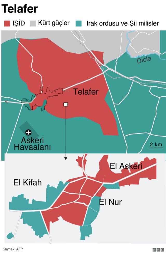 Tel Afer haritası