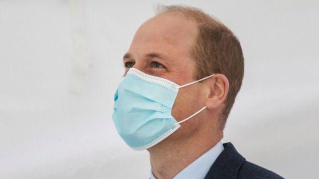 فيروس كورونا: الأمير ويليام أصيب في أبريل الماضي