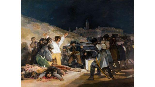 Quadro 'Três de Maio de 1808 em Madri', de Goya