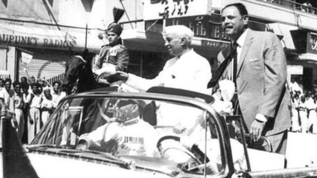 جنرل ایوب خان اور پنڈت نہرو
