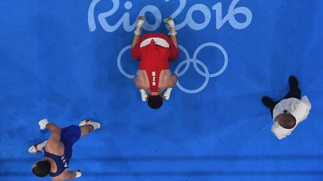 Boxeo en los Juegos Olímpicos de Rio 2016.