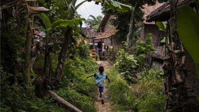 Siti Aisyah's village