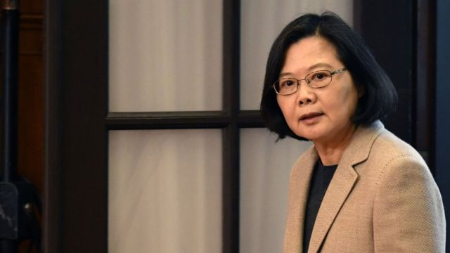 President Tsai says she intends to run for re-election in 2020.