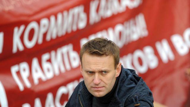 """Алексей Навальный на """"Русском марше"""""""