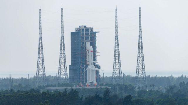 Centro de lanzamiento espacial de Wenchang, en China