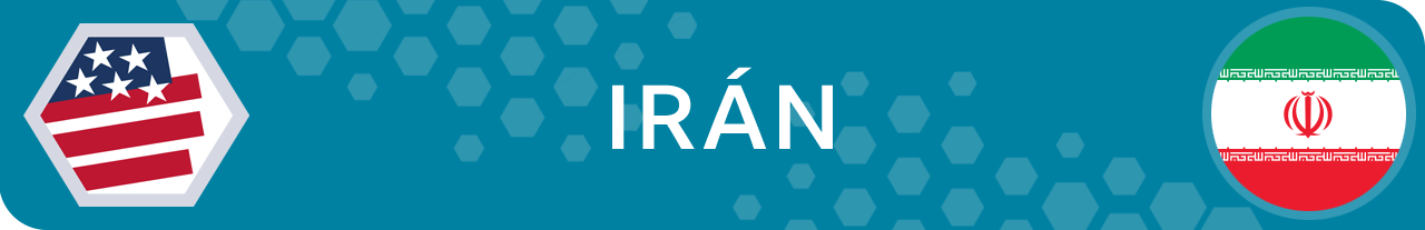 Banner Irán