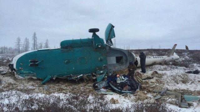 दुर्घटनाग्रस्त हेलीकॉप्टर