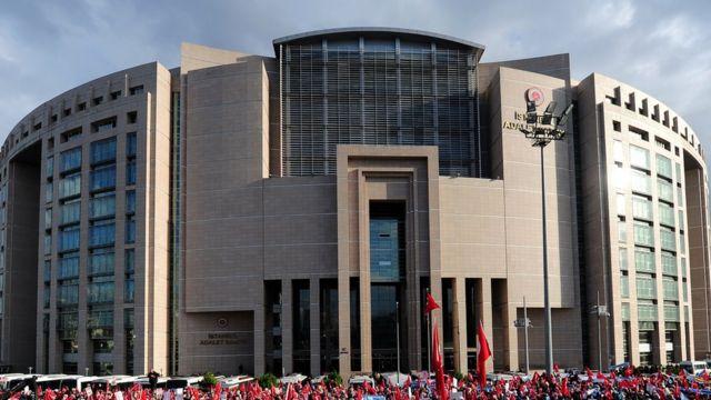 istanbul adalet sarayi nda operasyon