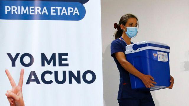 Personal sanitario en Chile.