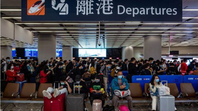 香港政府宣佈將於1月30日起暫停來往香港和中國大陸的高鐵服務。