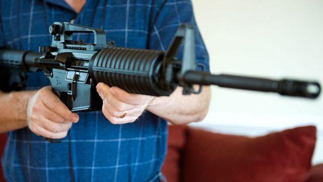El AR-15 tiene capacidad para disparar muchas balas a gran velocidad, hasta 100 proyectiles sin tener que recargar el arma.