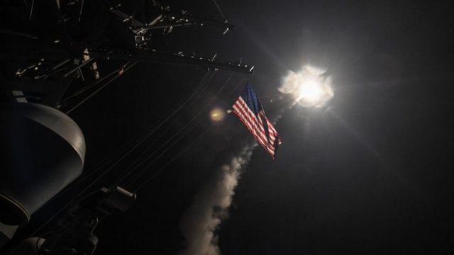 Mỹ đã bắn 59 tên lửa