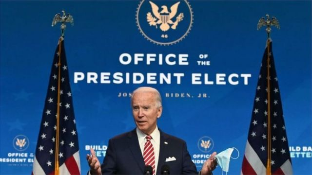 拜登已经成立了总统当选人办公室(Credit: Getty Images)