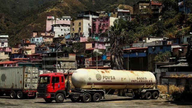 Caminhão da PDVSA