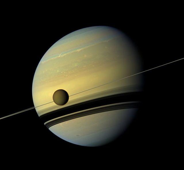 土卫六和土星