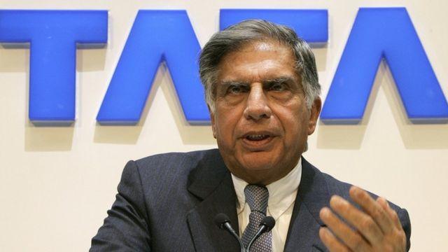 उद्योगपति रतन टाटा