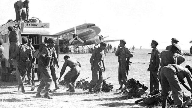 काश्मीरमध्ये भारतीय सैन्य