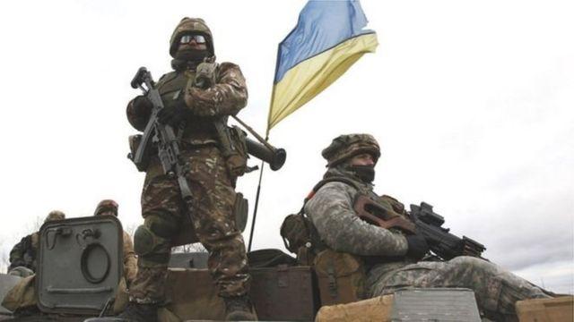 نیروهای دولتی اوکراین