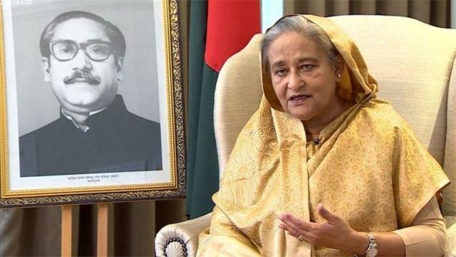 The Prime Minister of Bangladesh Sheikh Hasina