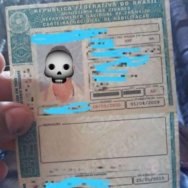 Habilitação falsa oferecida em grupo de Telegram