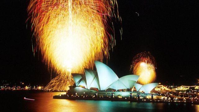 Sydney em 2000