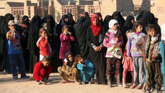 مجنيون عراقيون في الموصل