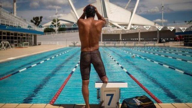 """آموزش در سالن شنای المپیک آتن برای الحسین """"رویایی"""" بود"""