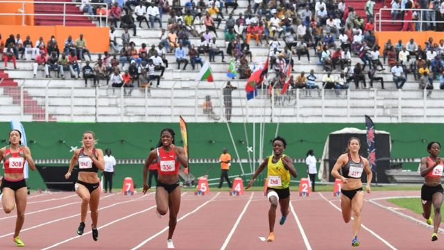 Jeux francophonie Abidjan, 2017, 3 000 stiples