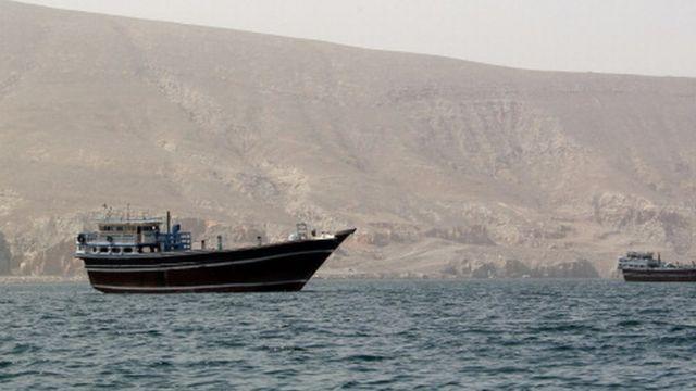 ओमान के नज़दीक समंदर