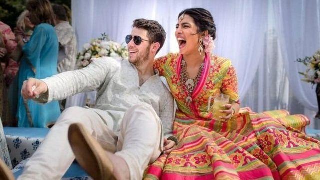 प्रियंका चोपड़ा और निक जोनास