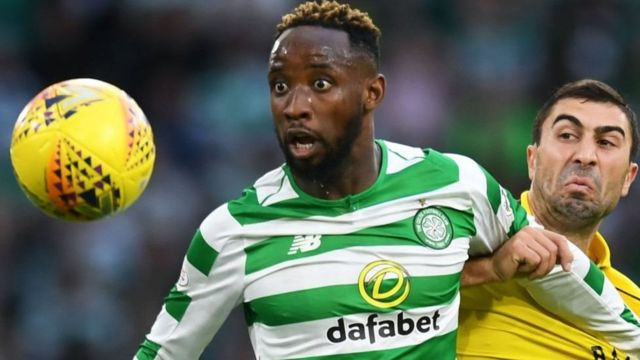Mshambuliaji wa Lyon na Ufaransa Moussa Dembele, 23. (ESPN)