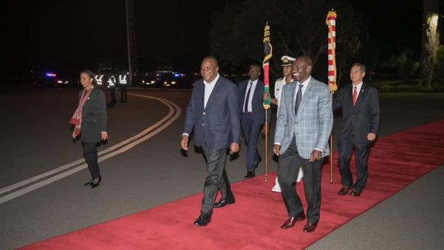 Kenyatta na Ruto
