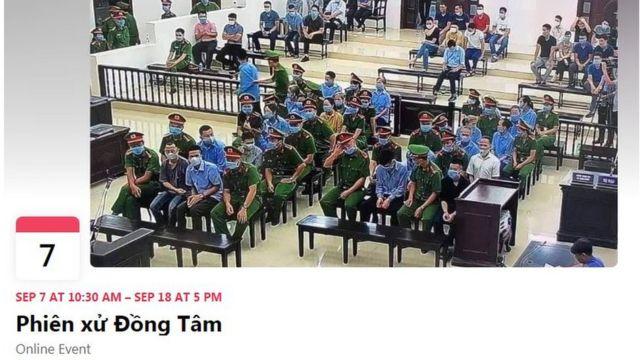 Sự kiện tổng hợp tin tức về Đồng Tâm trên trang Facebook.