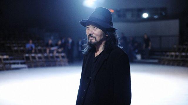 日本时装设计师山本耀司(Yamamoto Yohji)