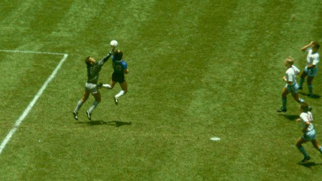 Maradona Cole Inghilterra