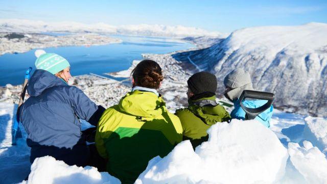Estudantes do mestrado de planejamento urbano nórdico