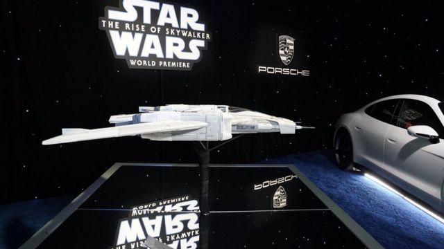 سفینه پورشه با همکاری طراحان فیلم جنگ ستارگان ساخته شده است