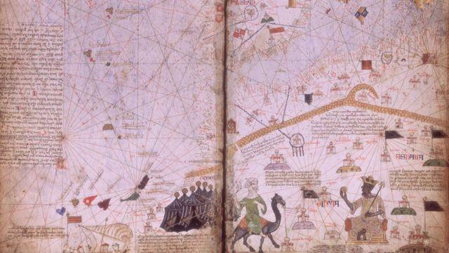 La carte de l'Atlas catalan