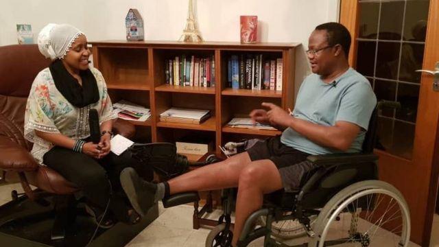 Tundu Lissu akizungumza na mwandishi wa BBC, Zuhura Yunus