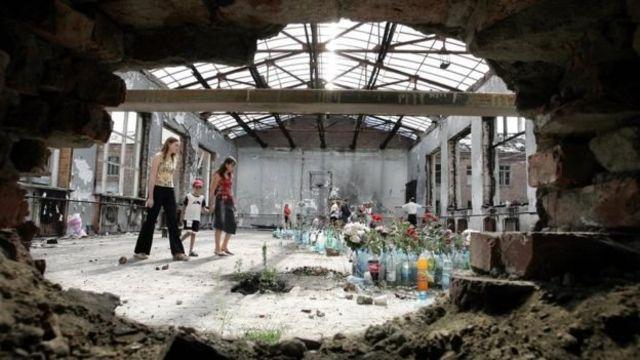 سالن ورزش مدرسه در جریان گروگانگیری تخریب شد
