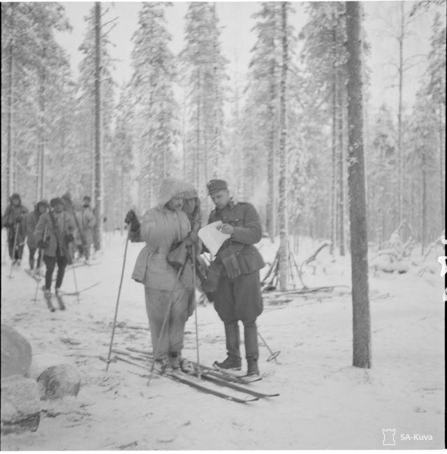 Soldados esquiadores