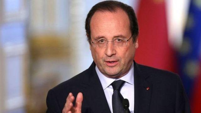 Президент Франції Франсуа Олланд