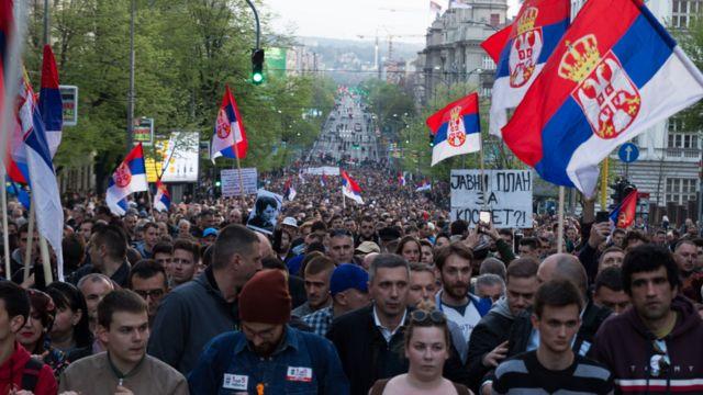 протести у Београду 2019.