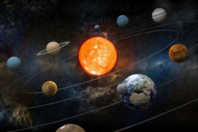 As órbitas do Sistema Solar
