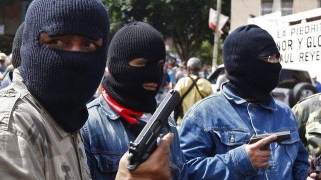 Armed gangs