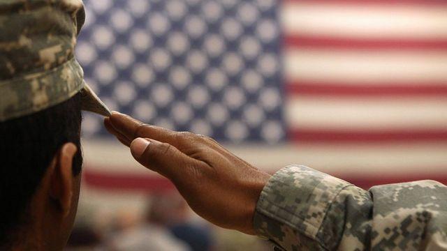 Soldado estadounidense.