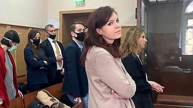 Кира Ярмыш в суде
