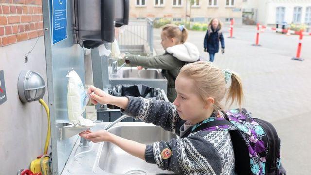 handwashing for Roskilde school